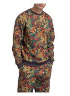 THE NORTH FACE Sweatshirt FINE CREW, Farbe: GELB/ SCHWARZ/ ROT (Bild 1)