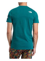 THE NORTH FACE T-Shirt FINE 2, Farbe: PETROL (Bild 1)