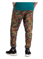 THE NORTH FACE Sweatpants FINE2, Farbe: SCHWARZ/ GELB/ ROT (Bild 1)
