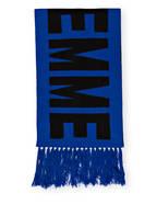 Mrs & HUGS Cashmere-Schal FEMME , Farbe: BLAU/ SCHWARZ (Bild 1)