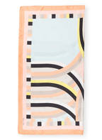 MARCCAIN Seidentuch, Farbe: APRICOT/ HELLBLAU/ SCHWARZ (Bild 1)