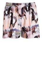 molo Shorts, Farbe: HELLROSA/ DUNKELBRAUN/ SCHWARZ (Bild 1)