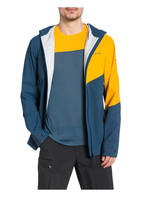 VAUDE Outdoor-Jacke SIMONY 2,5L III, Farbe: PETROL/ GELB (Bild 1)