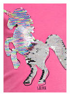 s.Oliver T-Shirt mit Wendepailletten , Farbe: PINK (Bild 1)