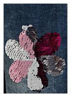 s.Oliver Jeansshorts mit Wendepailletten, Farbe: BLAU (Bild 1)