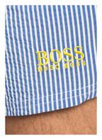 BOSS Badeshorts VELVETFISH, Farbe: HELLBLAU/ WEISS (Bild 1)