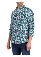 BOSS Leinenhemd RELEGANT Regular Fit, Farbe: BLAU/ WEISS/ DUNKELBLAU (Bild 1)