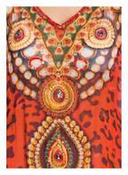 Bagatelle Kaftan mit Schmucksteinbesatz, Farbe: ORANGE/ TÜRKIS (Bild 1)