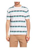 TOMMY JEANS T-Shirt, Farbe: WEISS/ GRÜN/ SCHWARZ (Bild 1)