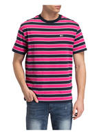 TOMMY JEANS T-Shirt, Farbe: DUNKELBLAU/ PINK/ WEISS (Bild 1)