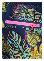 Superdry Badeshorts, Farbe: DUNKELBLAU/ DUNKELGELB/ MINT (Bild 1)