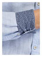 OLYMP Leinenhemd Level Five body fit, Farbe: BLAU/ WEISS GESTREIFT (Bild 1)