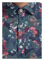 OLYMP Leinenhemd Level Five body fit, Farbe: DUNKELBLAU/ DUNKELGRÜN/ ROT (Bild 1)