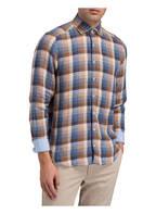 OLYMP Leinenhemd Level Five Casual body fit, Farbe: BRAUN/ BLAU (Bild 1)