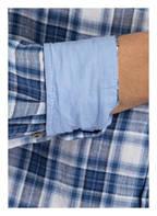 OLYMP Leinenhemd Level Five Casual body fit, Farbe: BLAU/ WEISS KARIERT (Bild 1)