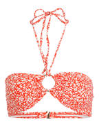 MICHAEL KORS Bandeau-Bikini-Top , Farbe: ROT/ WEISS (Bild 1)