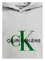 Calvin Klein Hoodie, Farbe: GRAU MELIERT (Bild 1)