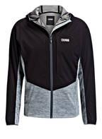 COLMAR Stretch-Softshell-Jacke, Farbe: SCHWARZ/ GRAU MELIERT (Bild 1)