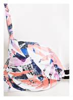 SHORT STORIES Bügel-Bikini-Top, Farbe: WEISS/ APRICOT/ BLAU (Bild 1)