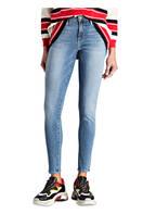FRAME DENIM Skinny-Jeans DE JEANNE, Farbe: QUEEN BLUE (Bild 1)