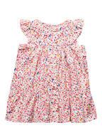 PETIT BATEAU Kleid , Farbe: WEISS/ ROSA/ PINK (Bild 1)