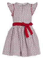 PETIT BATEAU Kleid, Farbe: WEISS/ ROT (Bild 1)
