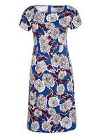 WEEKEND MaxMara Kleid CASCIA, Farbe: BLAU/ HELLROSA/ DUNKELROT (Bild 1)