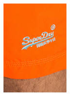 Superdry Badeshorts WATER POLO, Farbe: ORANGE (Bild 1)