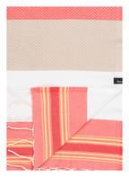 Kamoa Strandtuch, Farbe: KORALLE/ GELB/ BEIGE (Bild 1)