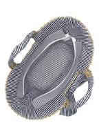 Kamoa Strandtasche EMELIE, Farbe: BEIGE/ NAVY/ WEISS (Bild 1)