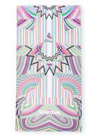 SPORTALM  Strandtuch, Farbe: LILA/ HELLBLAU/ WEISS (Bild 1)