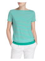 windsor T-Shirt, Farbe: GRÜN/ WEISS GESTREIFT (Bild 1)