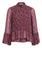 GESTUZ Blusenshirt ROSANNA , Farbe: ROT/ SCHWARZ/ DUNKELLILA (Bild 1)