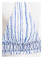 heidi klein Triangel-Bikini-Top, Farbe: WEISS/ BLAU (Bild 1)