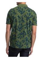 MAERZ MUENCHEN Piqué-Poloshirt Regular Fit, Farbe: GRÜN/ BLAU (Bild 1)