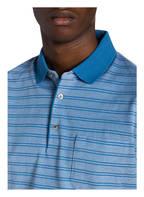 MAERZ MUENCHEN Piqué-Poloshirt, Farbe: HELLBLAU/ BLAU GESTREIFT (Bild 1)
