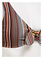 TORY BURCH Bügel-Bikini-Top, Farbe: SCHWARZ/ BRAUN (Bild 1)