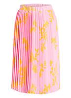 Marc O'Polo DENIM Plisseerock, Farbe: ROSA/ GELB (Bild 1)