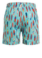Pepe Jeans Badeshorts, Farbe: TÜRKIS/ ROT/ WEISS (Bild 1)