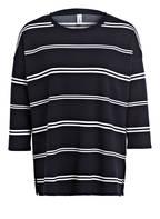 soyaconcept Sweatshirt DENA mit 3/4-Arm, Farbe: NAVY/ WEISS GESTREIFT (Bild 1)