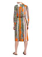 TORY BURCH Kleid, Farbe: ORANGE/ WEISS/ GRÜN (Bild 1)