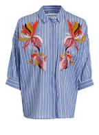ESSENTIEL ANTWERP Bluse SOLUTION1, Farbe: BLAU/ WEISS GESTREIFT (Bild 1)