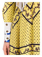 GANNI Blusenkleid, Farbe: GELB/ CREME/ ROSA (Bild 1)