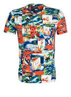 POLO RALPH LAUREN T-Shirt, Farbe: GRÜN/ ROT/ BLAU (Bild 1)