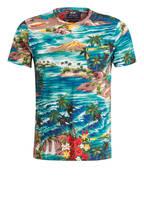 POLO RALPH LAUREN T-Shirt, Farbe: GRÜN/ GELB/ HELLBRAUN (Bild 1)