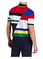 POLO RALPH LAUREN Piqué-Poloshirt Classic Fit, Farbe: DUNKELBLAU/ WEISS/ ROT (Bild 1)