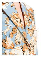 STINE GOYA Blazer, Farbe: HELLBLAU/ HELLGELB/ DUNKELORANGE (Bild 1)