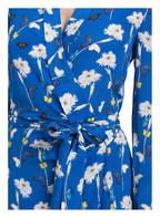 Mrs & HUGS Wickelkleid aus Seide, Farbe: BLAU/ WEISS/ GELB (Bild 1)