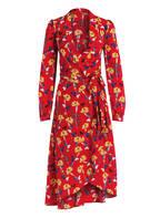 Mrs & HUGS Wickelkleid aus Seide, Farbe: ROT/ GELB/ BLAU (Bild 1)