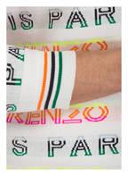 KENZO Pullover, Farbe: WEISS/ GRÜN/ PINK (Bild 1)